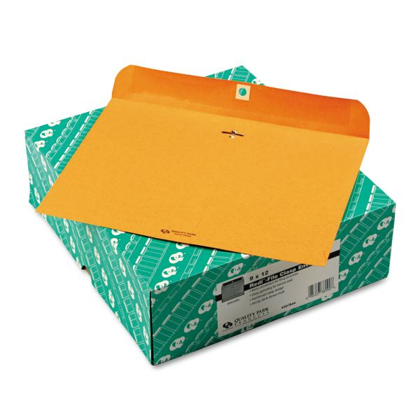 "Quality Park 9"" x 12"" Clasp Envelopes"