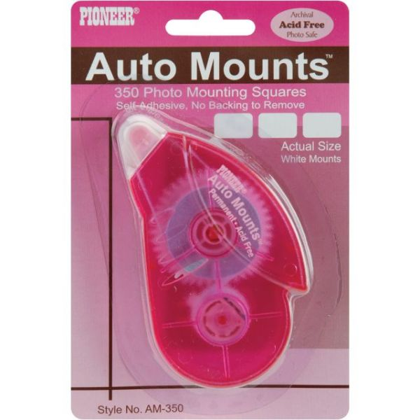 Auto Mounts Permanent Mounting Square Roller 350/Pkg