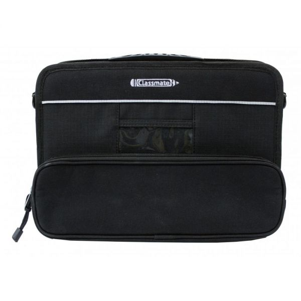 "InfoCase Classmate Always-On Carrying Case for 11.6"" Chromebook, Notebook - Black"