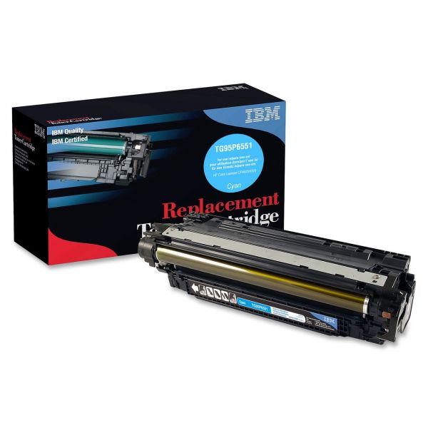 IBM Remanufactured HP CE261A Cyan Toner Cartridge