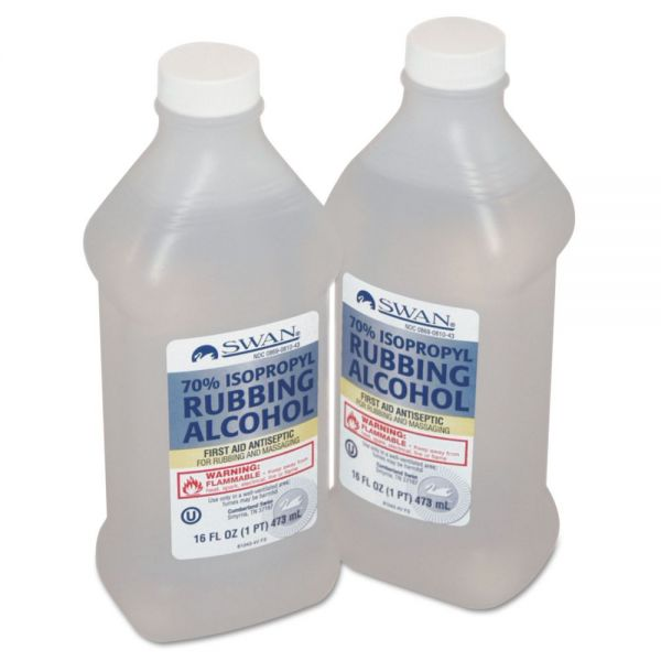 PhysiciansCare by First Aid Only First Aid Kit Rubbing Alcohol, Isopropyl Alcohol, 16 oz Bottle