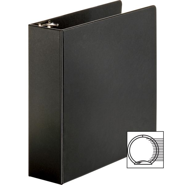 "Business Source Vinyl 3"" 3-Ring Binder"