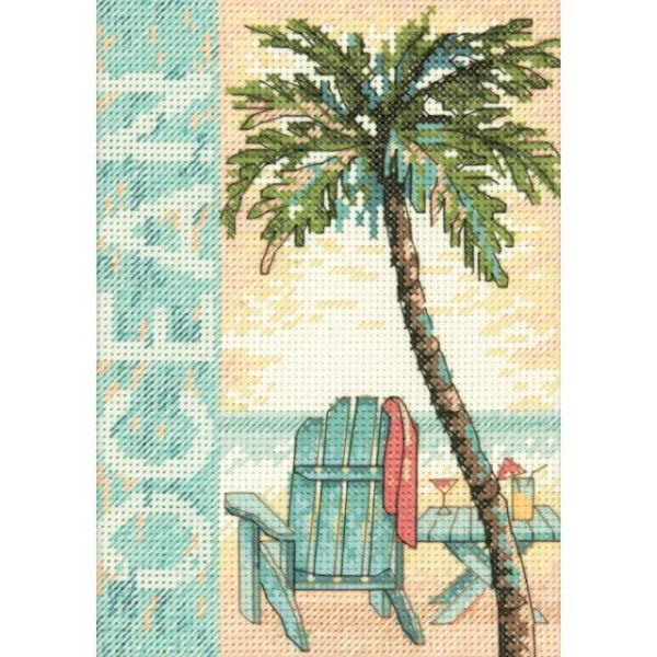 Ocean Counted Cross Stitch Kit