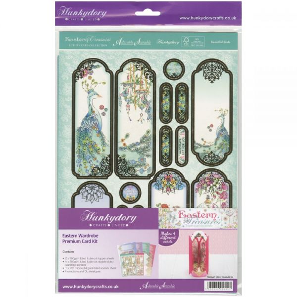 Hunkydory Eastern Treasures Premium A4 Card Kit