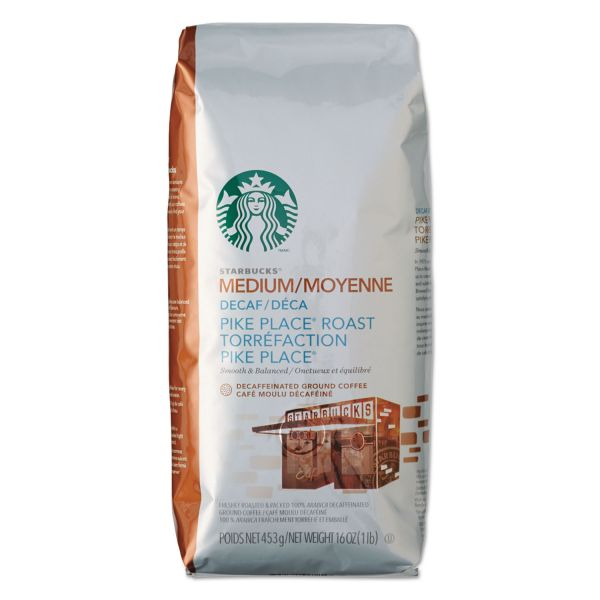 Starbucks Ground Coffee - Decaf (1 lb)