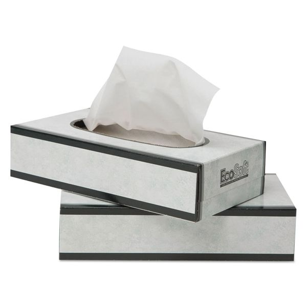 EcoSoft 2-Ply Facial Tissues
