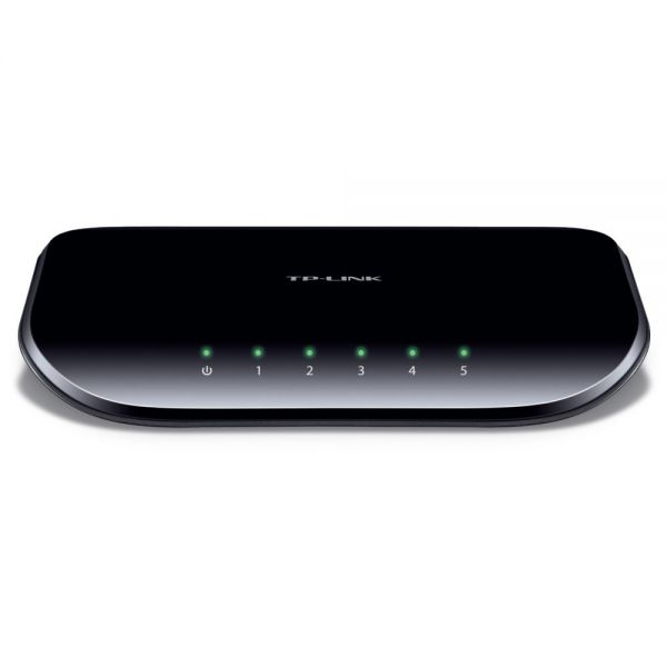 TP-LINK TL-SG1005D 10/100/1000Mbps 5-Port Gigabit Desktop Switch, 10Gbps Capacity