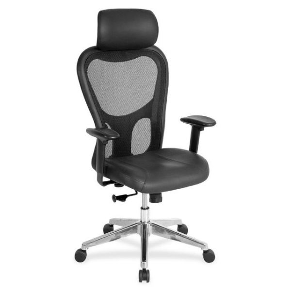 Lorell High Back Executive Mesh Office Chair