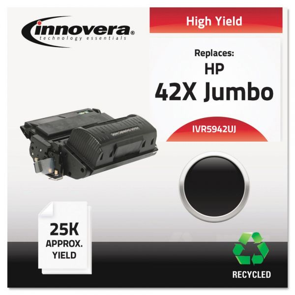 Innovera Remanufactured HP 42X (Q5942X) Toner Cartridge