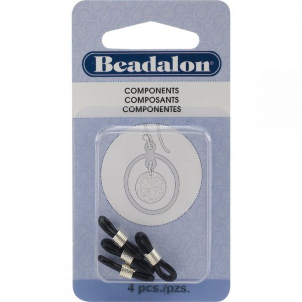 Beadalon Eye Glass Holders 4/Pkg