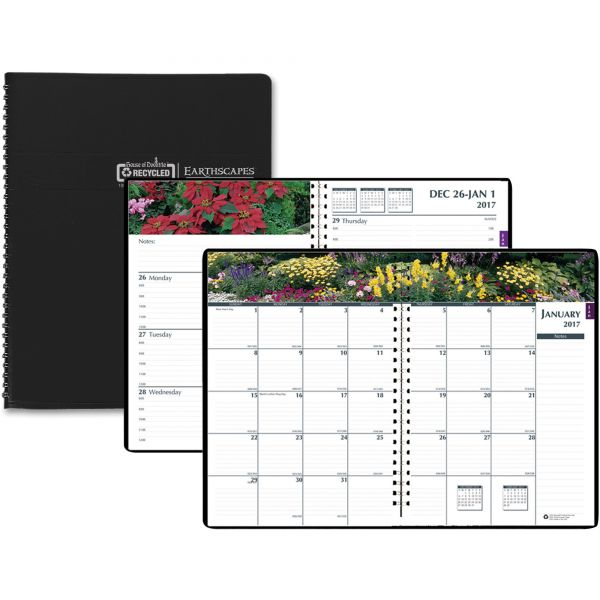 House of Doolittle Earthscapes Gardens of the World Weekly/Monthly Appointment Book