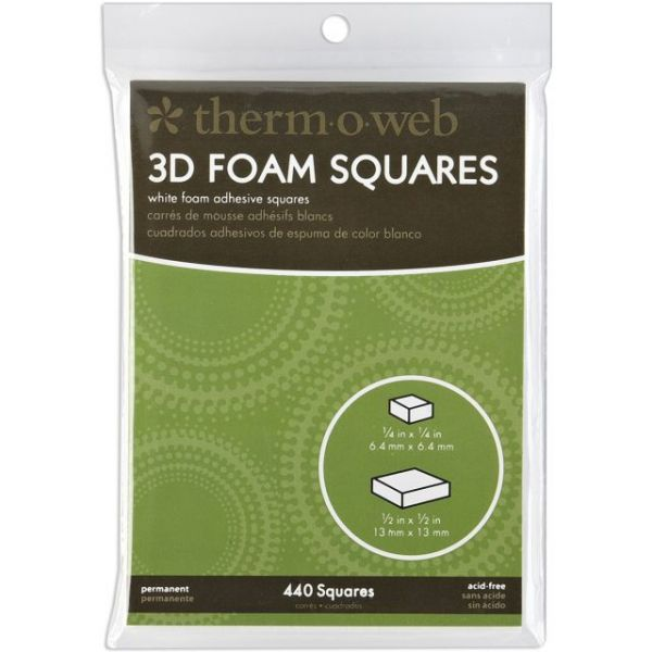 Therm-O-Web 3D Foam Squares Combo Pack
