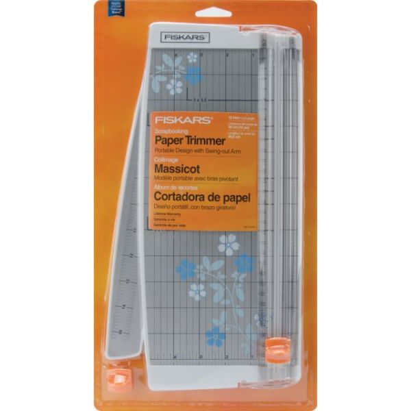 Fiskars Portable Scrapbooking Paper Trimmer 12""