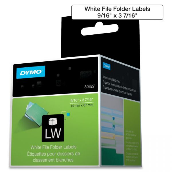 Dymo File Folder Labels