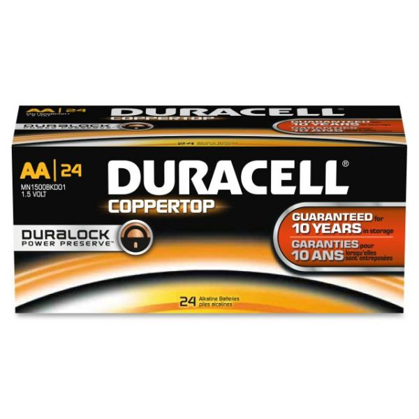 Duracell CopperTop AA Batteries