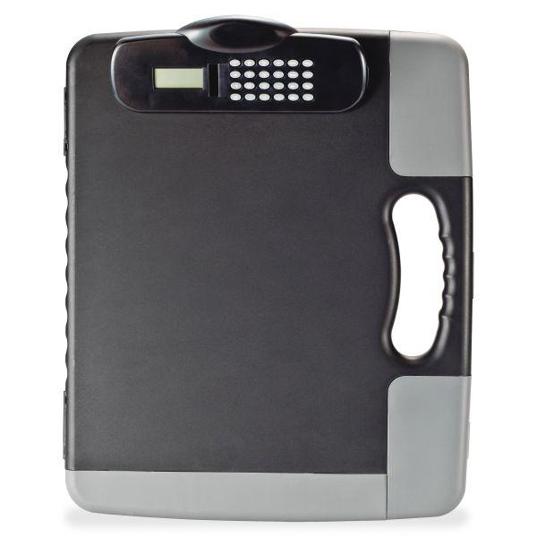 Officemate Portable Storage Clipboard w/Calculator