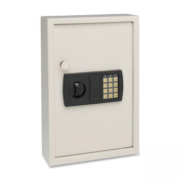 SteelMaster Electronic Key Safe, 48-Key, Steel, Sand, 11 3/4 x 4 x 17 3/8
