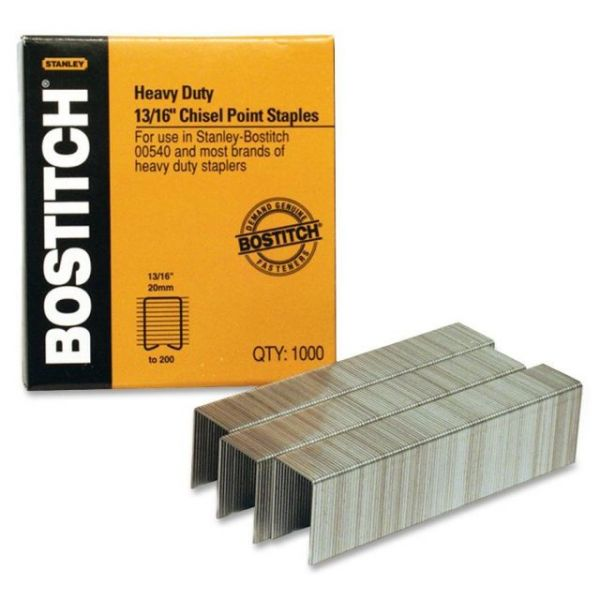 "Stanley-Bostitch Heavy-Duty 13/16"" Staples"