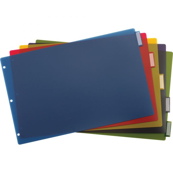 Cardinal Poly Insertable Tab Index Dividers