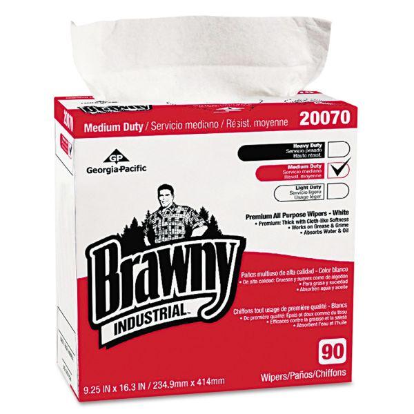 Brawny Industrial Medium-Duty Premium Wipes