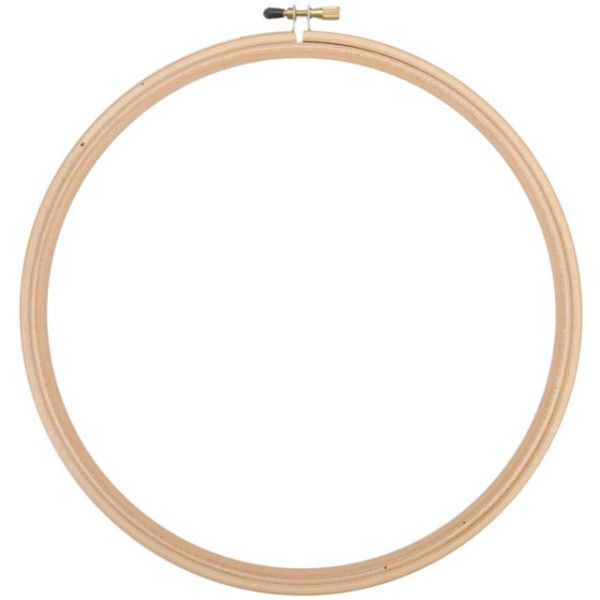 Edmunds Wood Embroidery Hoop