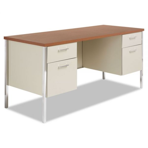 Alera Double Pedestal Computer Desk