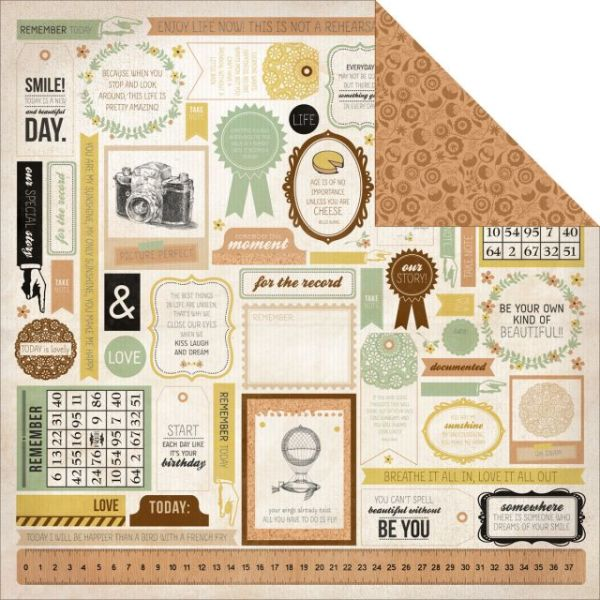 "Take Note Double-Sided Cardstock 12""X12"""