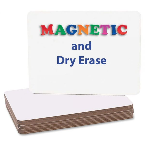 Flipside Magnetic Plain Dry Erase Boards