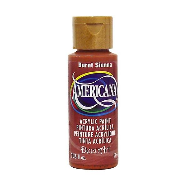Deco Art Americana Burnt Sienna Acrylic Paint