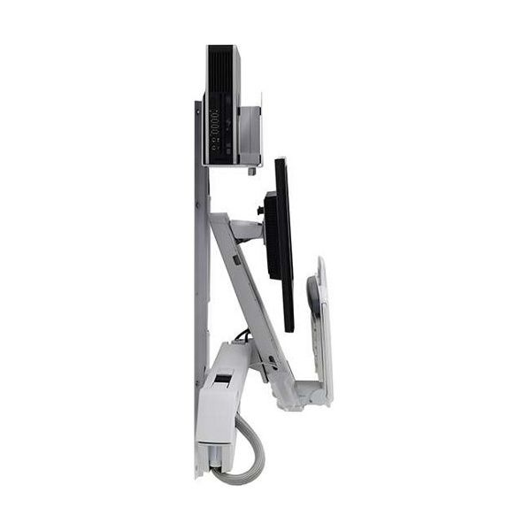 Ergotron StyleView Wall Mount for Monitor, CPU, Keyboard, Scanner, Mouse