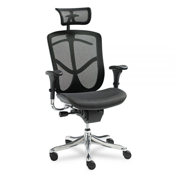 Alera EQ Series Ergonomic Multifunction High Back Mesh Office Chair