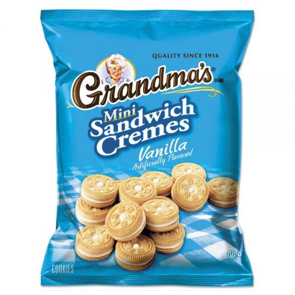 Grandma's Mini Crème Sandwich Cookies