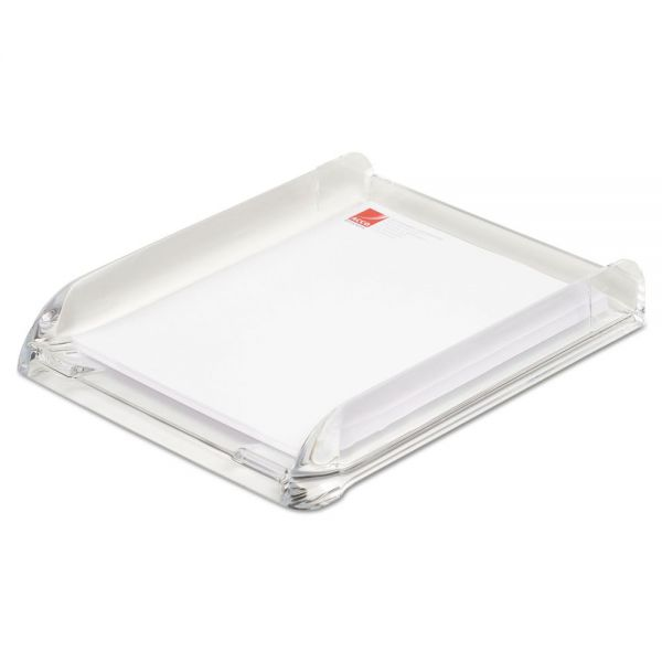 Swingline Stratus Acrylic Document Tray, Letter, Clear
