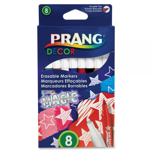 Prang Decor Magic Erasable Markers