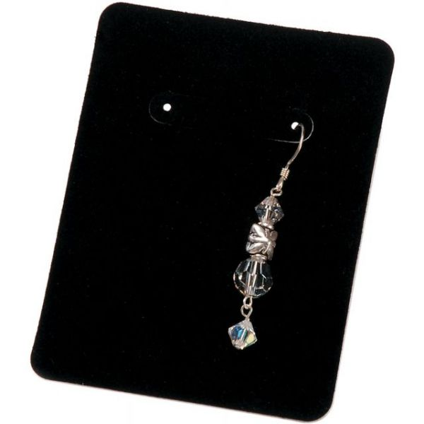 Darice Velvet Earring Display Cards