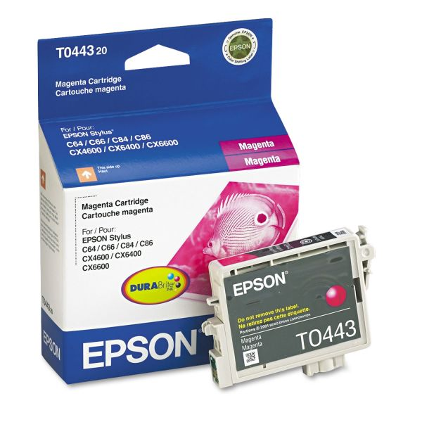 Epson T0443 Magenta Ink Cartridge