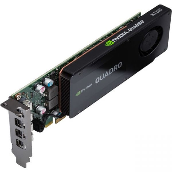 PNY Quadro K1200 Graphic Card - 4 GB GDDR5 SDRAM - PCI Express 2.0 x16 - Low-profile - Single Slot Space Required
