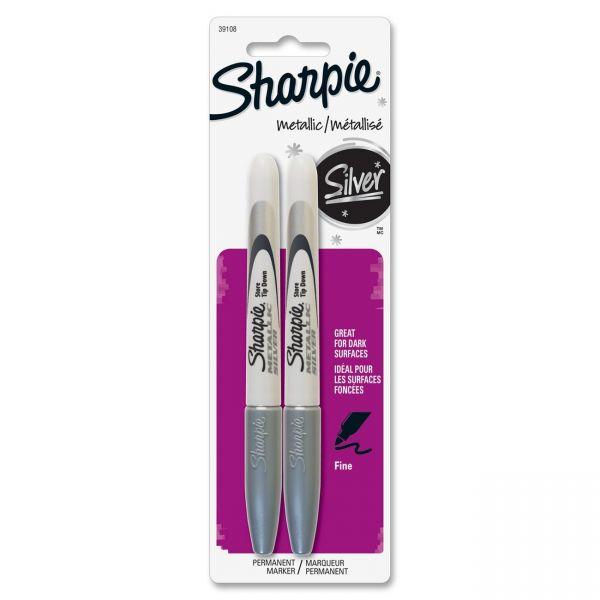 Sharpie Metallic Fine Point Permanent Markers
