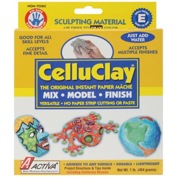 CelluClay Instant Paper-Mache 1lb