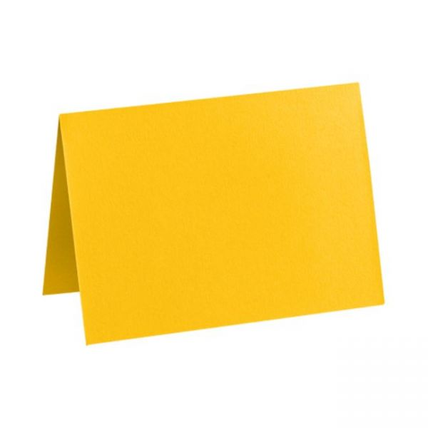 lux folded cards a1 3 1 2 x 4 7 8 sunflower yellow. Black Bedroom Furniture Sets. Home Design Ideas