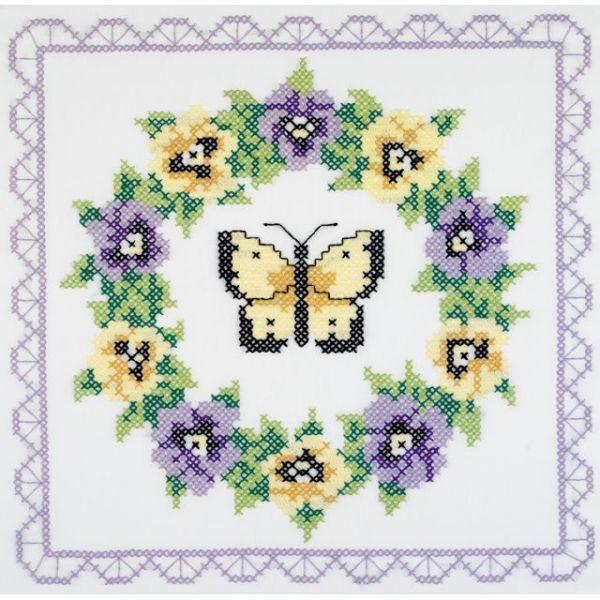 Janlynn Stamped Cross Stitch Quilt Blocks Kit