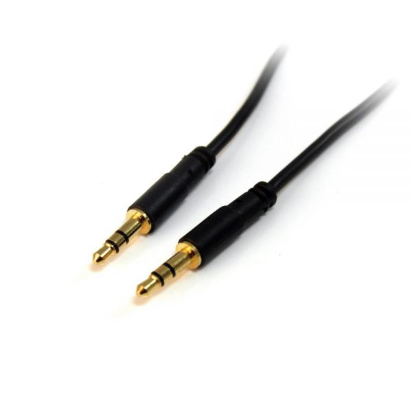 StarTech.com 10 ft Slim 3.5mm Stereo Audio Cable - M/M