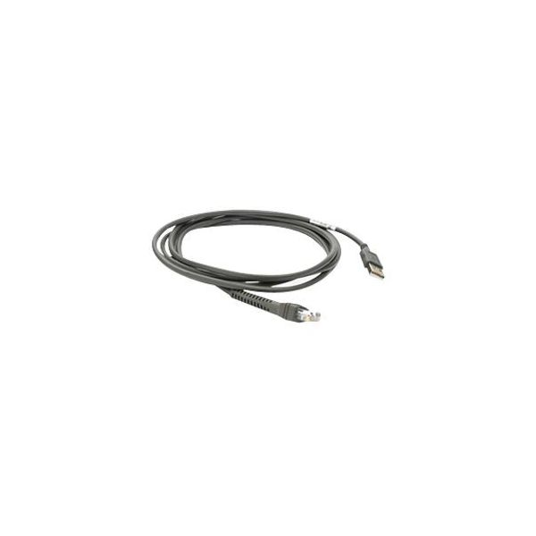 Zebra CBA-U01-S07ZAR USB Straight Cable