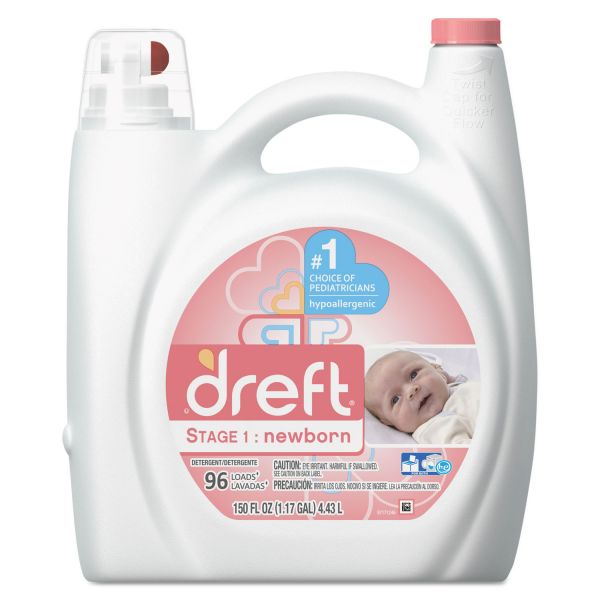 Dreft Stage 1: Newborn Liquid Laundry Detergent
