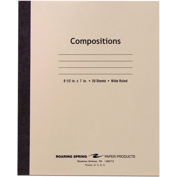 Roaring Spring Stitched Composition Notebook