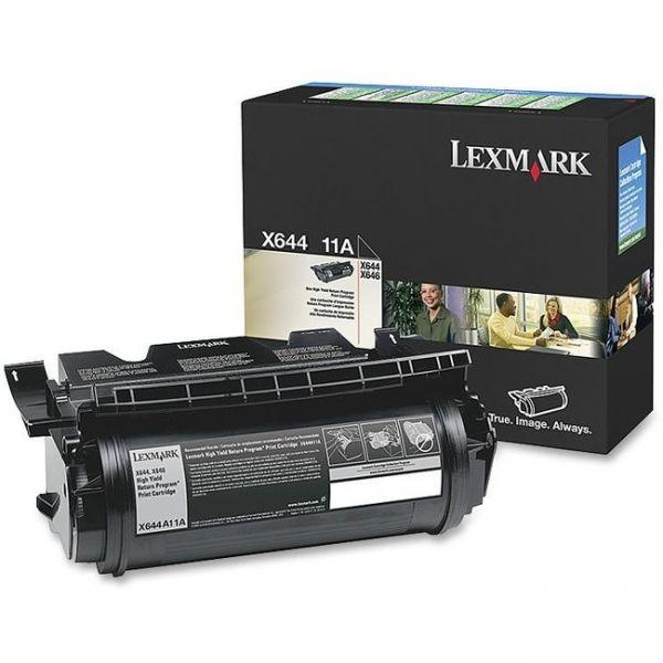 Lexmark X644A11A Toner Cartridge