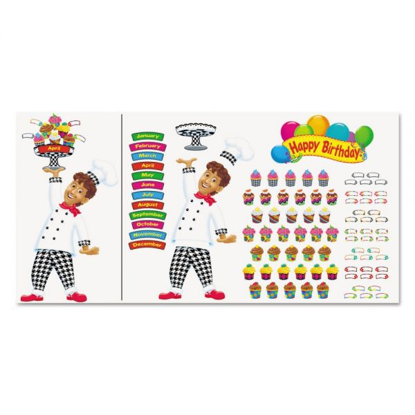 Trend Happy Birthday Bake Shop Bulletin Board Set