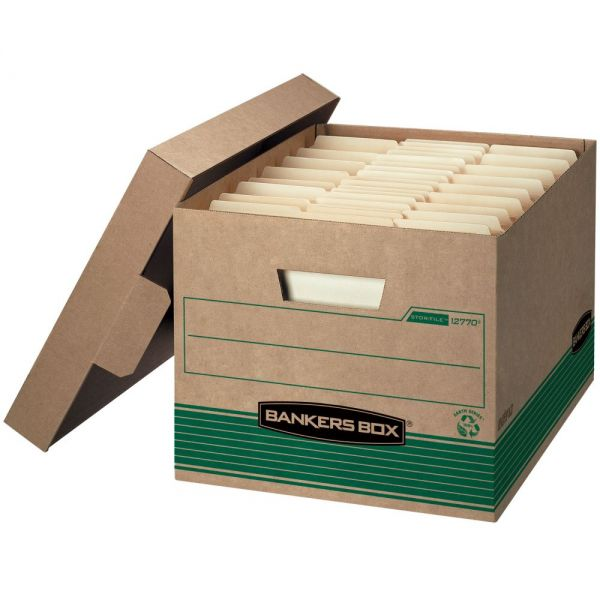 Bankers Box Recycled Stor/File - Letter/Legal, Lift-Off Lids - Pallet