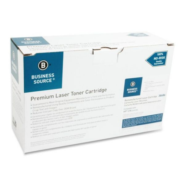 Business Source Remanufactured HP 27A (C4127A) Toner Cartridge