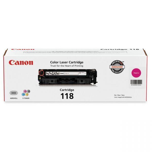 Canon 118 Magenta Toner Cartridge (CRTDG118-MA)